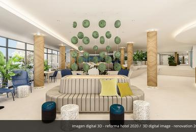 Intérieurs- Rénové en 2020 Hôtel AluaSoul Palma (Adultes Seulement) Cala Estancia, Mallorca