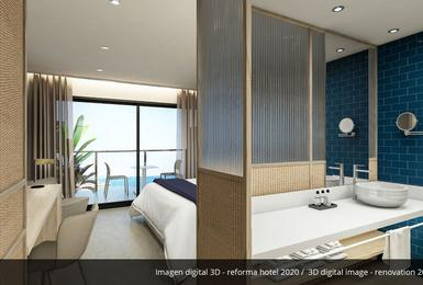 Chambre- Rénové en 2020 Hôtel AluaSoul Palma (Adultes Seulement) Cala Estancia, Mallorca