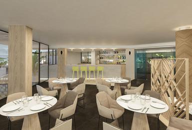 Bar- Rénové en 2020 Hôtel AluaSoul Palma (Adultes Seulement) Cala Estancia, Mallorca