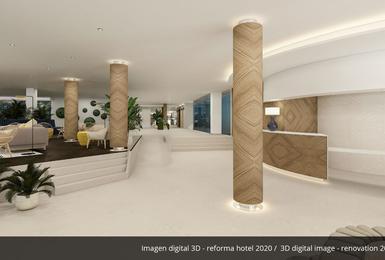 Hall- Rénové en 2020 Hôtel AluaSoul Palma (Adultes Seulement) Cala Estancia, Mallorca