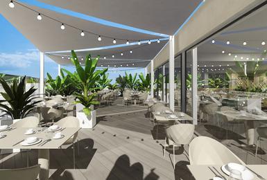 Terrasse- Rénové en 2020 Hôtel AluaSoul Palma (Adultes Seulement) Cala Estancia, Mallorca