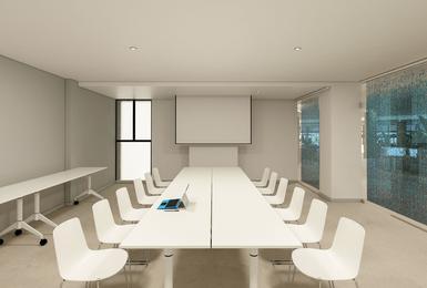 Salle de réunion- Rénové en 2020 Hôtel AluaSoul Palma (Adultes Seulement) Cala Estancia, Mallorca